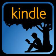 kindle logo linking through to amazon page